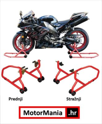 BikeTek prednji i stražnji podizač za motocikle